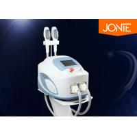 Two System Eligh Rf + Ipl Hair Removal Machine With Two Handles For Acne Treatment