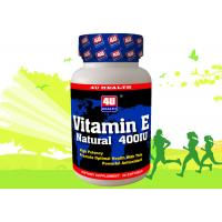 E Vitamin And Mineral Supplements Softgel Tocophenols as Antioxidant