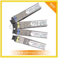 China BIDI Fast Gigabit Ethernet SFP Optical Transceiver 155M And 1.25G With SC Or LC Connector on sale