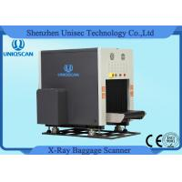 China Dual View Baggage Scanner Middle Size SF6550D Two Generator X-Ray Scanner wholesale