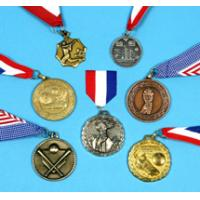 Metal Bowling Medal Box of Honor