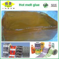 Heat Resistant PSA Hot Melt Adhesive Jelly Glue For Label / Sticker / Tape