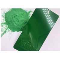 China RAL Green Color Epoxy Polyester Powder Coating Paint For Outdoor Application wholesale