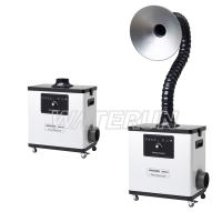 China Powerful Medical Small Fume Extractor Low Vibration With Four Wheels on sale