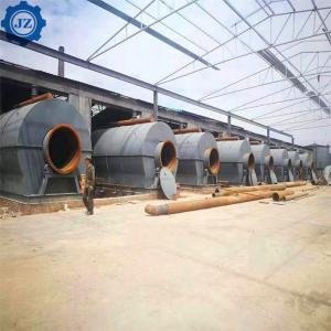 China 5ton-30ton Full Automatic Continuous Scrap Rubber Tyre Pyrolysis To Oil Equipment wholesale