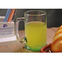China 14oz Water Glass Tumbler , beer / juice / milk clear drinking glasses wholesale
