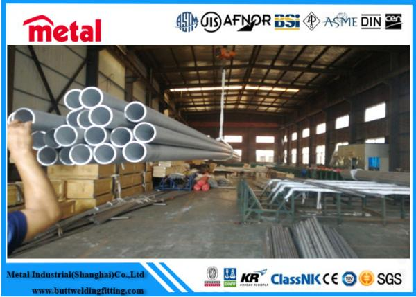 Quality Super Austenitic 3 Inch Stainless Steel Tubing , Welded Stainless Steel Seamless Pipe for sale