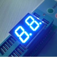 China Signage Bright Dual 7 Segment LED Display Blue For Medical Equipment wholesale