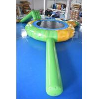 China 5m diameter  Seaside Inflatable Water Trampoline For Water Blob on sale