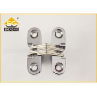 Buy cheap Zamak 180 Degree Cabinet Concealed Hinge For Interior / Cupboard Door from wholesalers