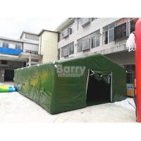 China Giant Air Sealed Or Air Military Inflatable Frame Tent For Outdoor Party Or Event on sale
