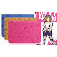 "Tablet Keyboard Leather Case for 7""colorful(cute girl) Android Windows Tablet PC"