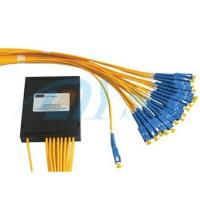 Buy cheap 1*32 PLC Optical Fiber Splitter G657A1 Fiber With SC / UPC Connector IS09001 from wholesalers