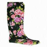 China Knitted Fabric Lining for PVC Rain Boots on sale