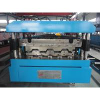 Manual / Hydraulic Floor Deck Roll Forming Machine 22KW 26 Stations