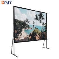 China 350 inch fast fold projector screen wholesale