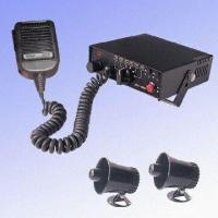China Electronic Car Siren with Double-way Car Speaker wholesale