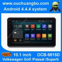 China Ouchuangbo android 4.4 VW Caddy EOS Polo 10.1 inch big screen 3G WIFI USB free map 47 core wholesale