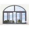 China Double Glazed Aluminium Sliding Windows For House 1.4mm~3.0mm Wall Thickness wholesale