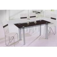 China Glass Table And Dining Chair wholesale