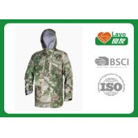 China Police Working Water Resistant Jacket , Warm Rain Jacket With Hood wholesale