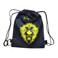 China custom cheap non woven drawstring bag for sale with logo printing manufacturer wholesale