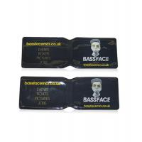 China Plastic sleeve PVC business card holder with good quality and price wholesale