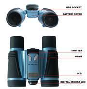 China Mini digicam binocular with 100,000 pixel wholesale