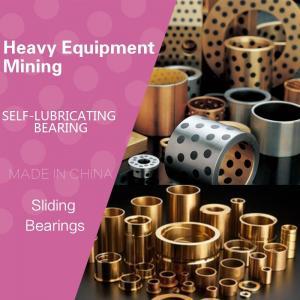 China Heavy Equipment / Mining MFGBushes Tight Tolerance Precision Manganese Bronze Flanged Bronze Graphite Plugged Bushings wholesale