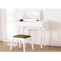 China Economic White Gloss Dressing Table , Lady Hotel Contemporary Dressing Table on sale