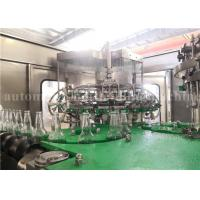 China Automatic Carbonated Water Bottling Plant For Sparkling Wine / Whiskey / Vodka wholesale