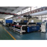 Buy cheap Round Tube & Sheet Laser Cutting Equipment 1000w / 1500w / 2000w from wholesalers