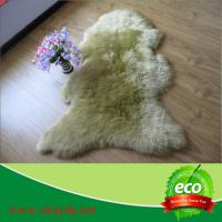 China 60x90cm single piece high quality  wholeskin factory hot sale sheepskin rugs sheep fur rugs wholesale