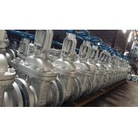 China Cast Steel Flanged Gate Valve Be Glass 300 LBS , Bolted Bonnet , O. S And Y With R.F on sale