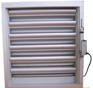 China Aluminum alloy double rainproof shutter wholesale