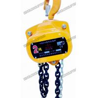 China Ultra Strong Hand Chain Hoist Load Chain Guide Forged Mechanism 1T 3M wholesale