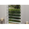 China vertical jalousie Glass Shutter Window security Aluminum Alloy Profiles wholesale