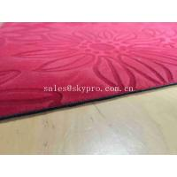 China Soft Multi - Function Neoprene Rubber Sheet , Non Toxic Yoga Mat For Outdoor wholesale