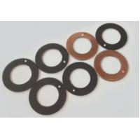 China Chemical Resistance Thrust Washer / Round / Composite Low Noise Steel Bronze Ptfe Wc10du wholesale
