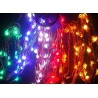 China 5m/25leds Flat battery operated holiday time lights wholesale