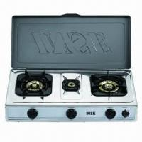 China Gas Stove with Porcelain Enamel Grills, Easy to Clean wholesale