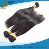 China Negro natural de la Virgen de las extensiones indias rectas sedosas duraderas del pelo 8 - 32 pulgadas wholesale