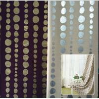 Buy cheap Bronzing Dupioni/silver plating Dupioni Fabric for window curtain fabric from wholesalers