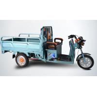 China Open Body Powerful Electric Tricycles / Three Wheel Electric Trike For Cargo wholesale