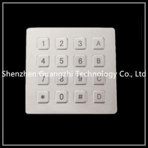 China OEM IP65 Elevator Security Keypad , Metal Atm Machine Keypad USB Interface on sale
