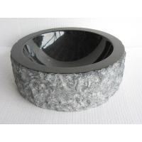 China absolute black farmhouse sink ,Round Granite or marble stone Sink for bathroom wholesale