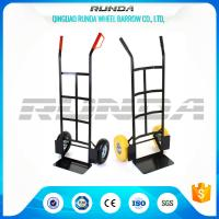 China Warehouse Hand Truck Dolly HT1830 200kg Load Powder Coating 185mm Toe Plate wholesale