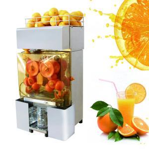 China Stainless Steel Automatic Orange Juicer Lemon Fruit Squeezer For Supermarket on sale