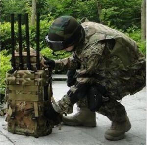 Buy cheap Jammer portátil de alta freqüência 4G do sinal de Manpack para prisões/forças armadas from wholesalers