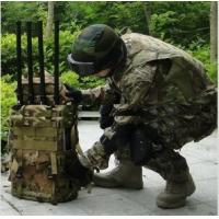 Prison 2G / 3G / 4G Cell Phone portable mobile signal jammer black or camouflage